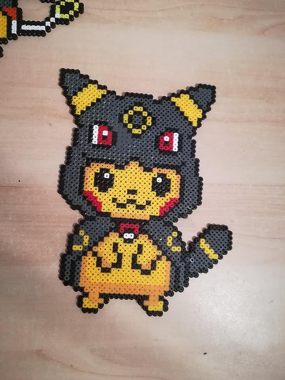 Pixel Art Pokemon Pikachu Déguisé Lunala