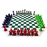 WE Games Four Player Chess Set