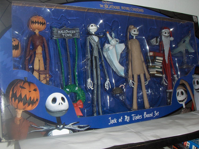 PESADILLA ANTES DE NAVIDAD JACK THE NIGHTMARE BEFORE CHRISTMAS PACK: Amazon.es: Juguetes y juegos