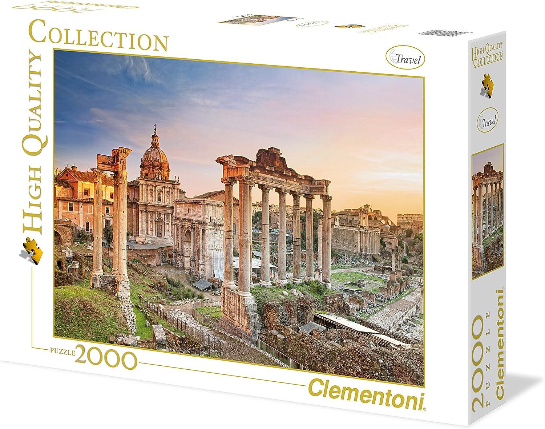 Clementoni - Puzzle 2000 Piezas Foro Romano (32549): Amazon.es: Juguetes y juegos
