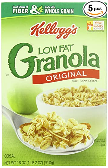 Kroger Low Fat Granola