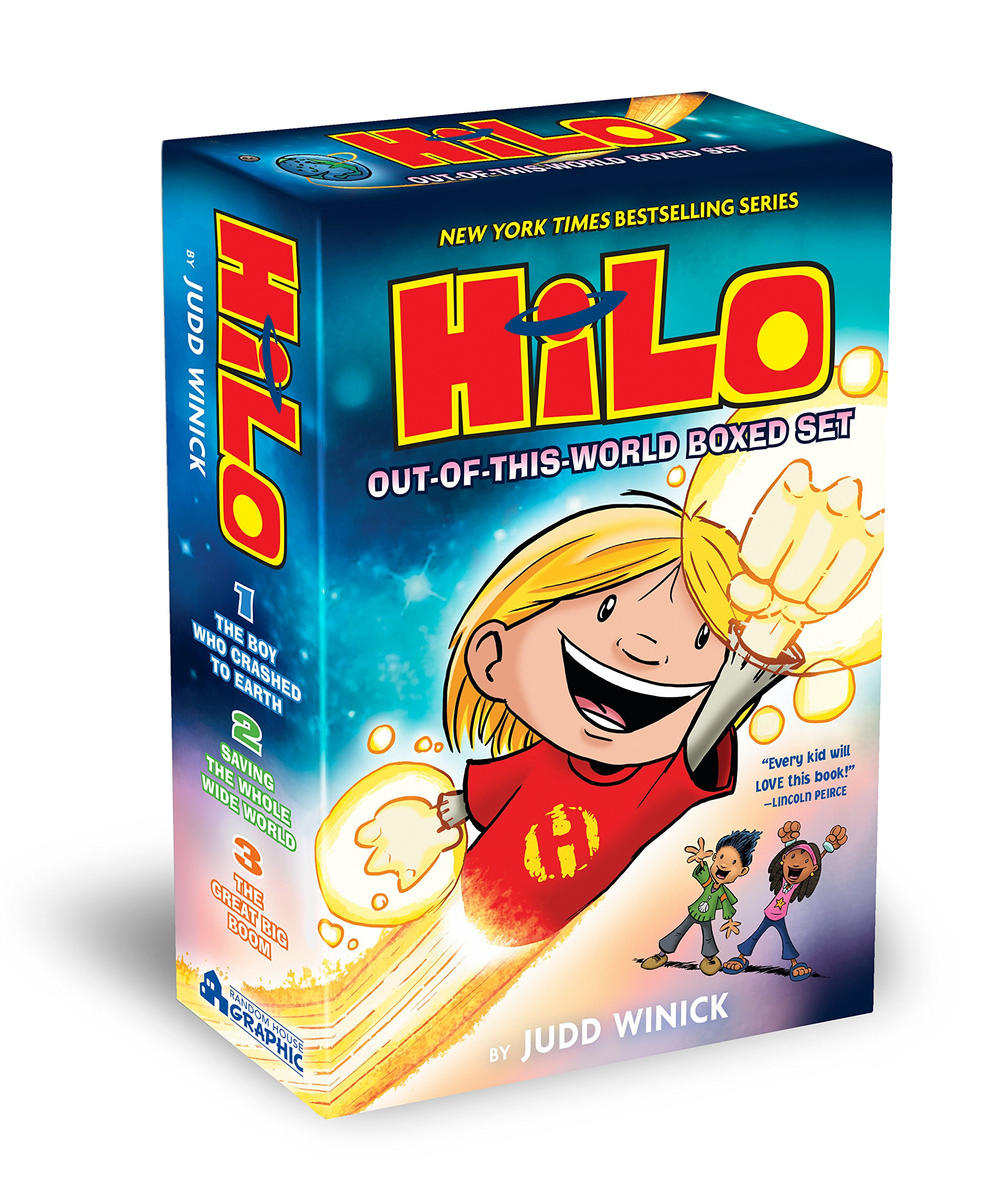 Hilo: Out-of-This-World Boxed Set by Random House Books for Young Readers