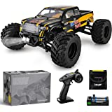 BEZGAR 1 Hobbyist Grade 1:12 Scale Remote Control Truck, 4WD High Speed 42 Km/h All Terrains Electric Toy Off Road RC Monster