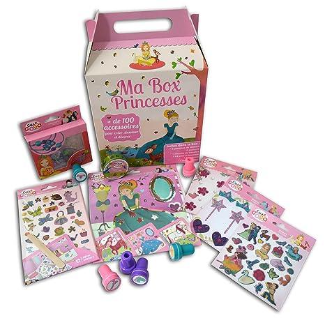 Téo   Zina cdz100 Cofanetto mia Box Principessa Kit di cartoleria con 100  accessori carta 20 e0733d52d82