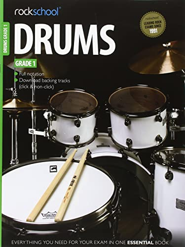 Rockschool Drums Grade 1 (2012-2018)