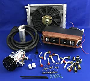 A/C KIT Universal Under Dash Evaporator Compressor AIR Conditioner 432-W 7B10 Ideal for Small Cars