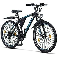 Licorne Bike Bicicleta de montaña prémium para niños, niñas, hombres y mujeres, cambio…