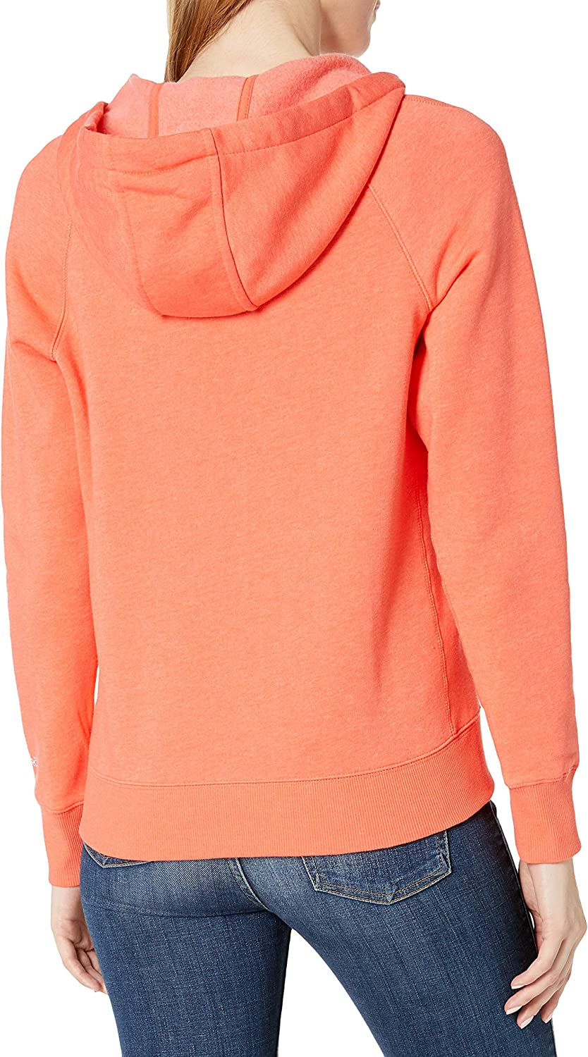 Carhartt Damen Regular Force Slightly Fitted Sweatshirt Hot Coral Heather