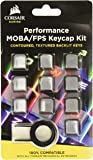 CORSAIR Gaming Performance FPS MOBA Keycap Kit – for Mechanical Keyboards – Include Key Puller - Gray (CH-9000232-NA)