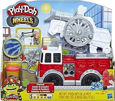 Oferta amazon: Play-Doh- Wheels Camión de Bomberos, Talla Única (Hasbro E6103EU4) , color/modelo surtido