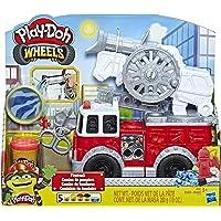 Play-Doh- Wheels Camión de Bomberos, Talla Única (Hasbro