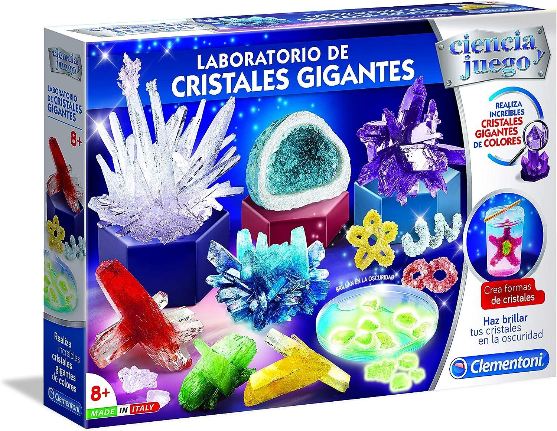 Ciencia y Juego - Laboratorio de Cristales Gigantes (Clementoni 55322) , color/modelo surtido