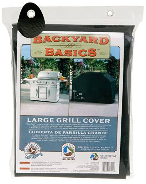 Backyard Basics 65-Inch Grill Cover
