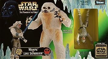 Star Wars El Poder de la Fuerza Bestia Pack con Wampa y Luke Skywalker y Figuras de acción: Amazon.es: Juguetes y juegos