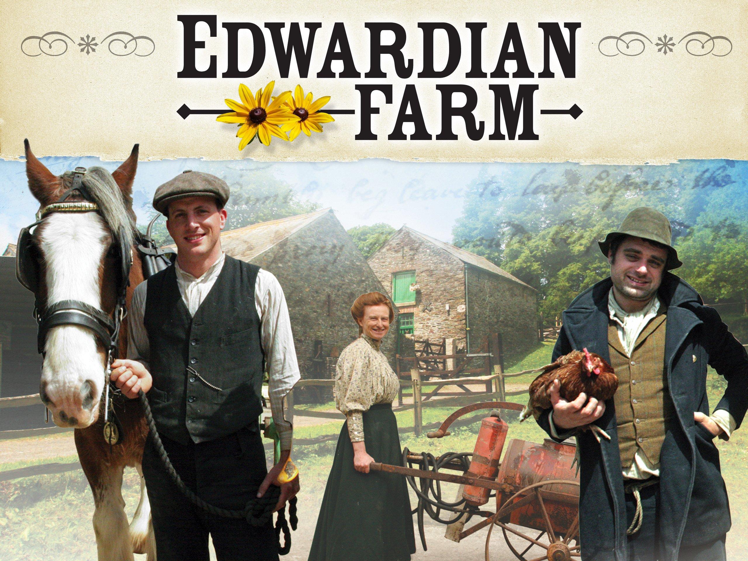Amazon: Edwardian Farms: Peter Ginn, Ruth Goodman, Alex Langlands,  Rupert Acton, Chris Mitchell, Naomi Benson, Stuart Elliot, Chris Marshall,
