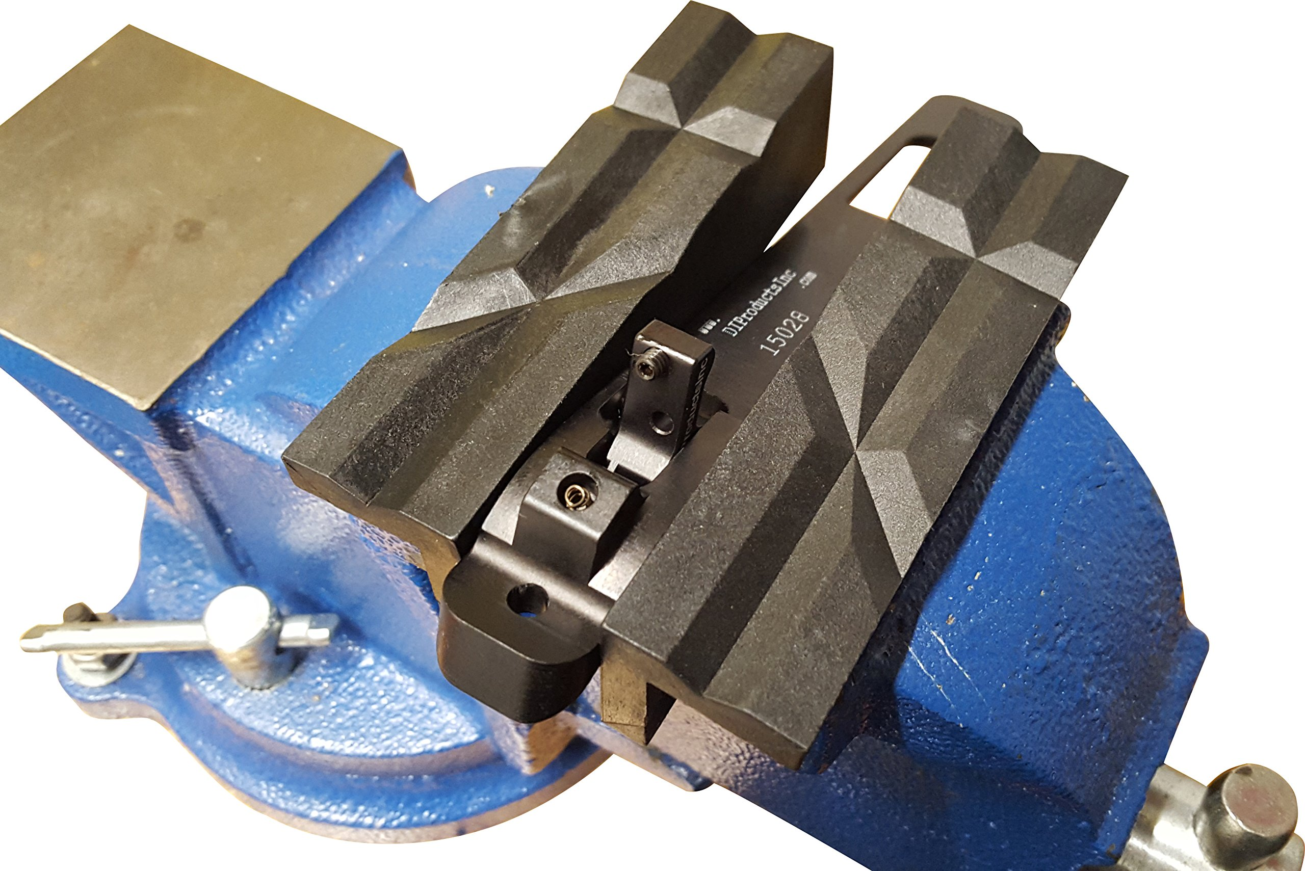 Vise Jaws - Nylon, Multipurpose 6'' - Use on any Metal Vise, Magnetic Reversible Pads (2 Sets in 1), Clamp Flat or Round Products - Available in 4'' or 6'' by JCL PRODUCTS (Image #7)