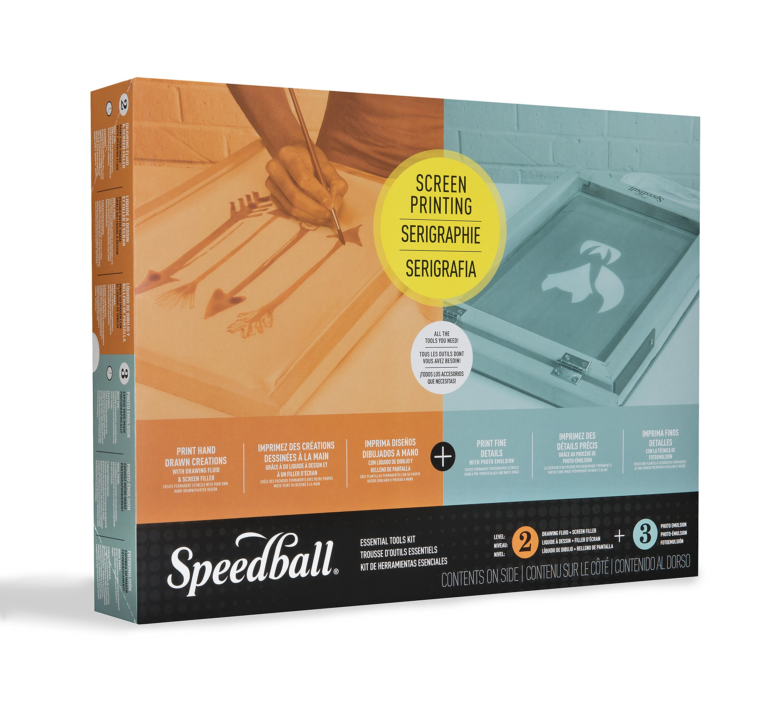 Speedball 004524 Essential Tools Kit