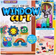 Made By Me Create Your Own Window Art by Horizon Group USA, Paint Your Own Suncatchers. Kit Includes 12 Pre-Printed Suncatch