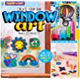 Made By Me Create Your Own Window Art by Horizon Group USA, Paint Your Own Suncatchers. Kit Includes 12 Pre-Printed Suncatche