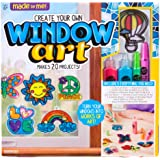 Made By Me Create Your Own Window Art by Horizon Group Usa, Paint Your Own Suncatchers, Includes 12 Suncatchers & More…