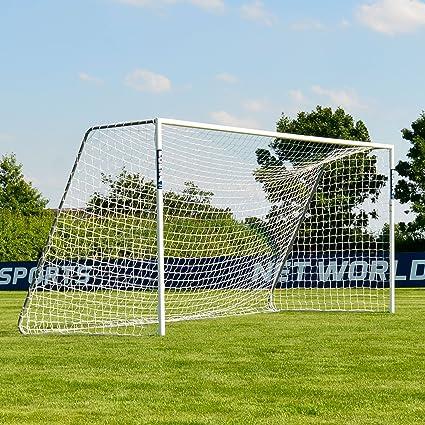a0f4409f1 Forza Alu60 Soccer Goal (16ft x 7ft) (Single or Pair) (Optional Target  Sheet) – Super Strong Aluminum Soccer Goal Perfect for Mini Soccer  Net  World Sports
