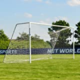 FORZA Alu60 Soccer Goal (16ft x 7ft) (Single or Pair) (Optional Target Sheet) – Super Strong Aluminum Soccer Goal Perfect for