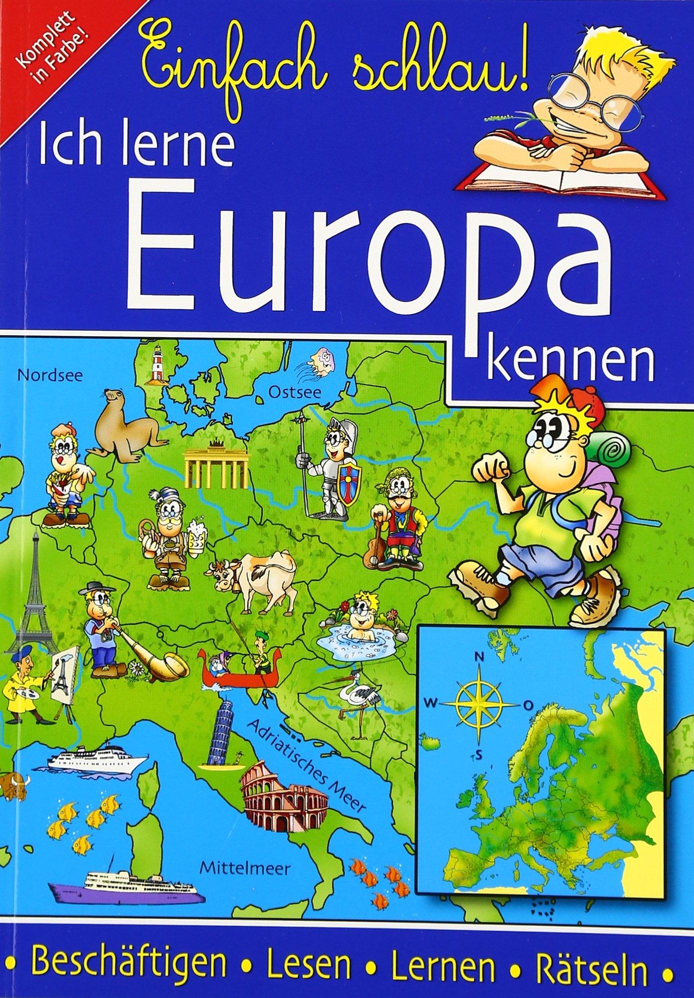 Ich lerne Europa kennen Taschenbuch – 1. September 2005 Inger Hatzky Media 3930722747 Allg.