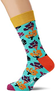 Happy Socks Puddle Sock Calcetines, Multicolor (Multicolour 530 ...