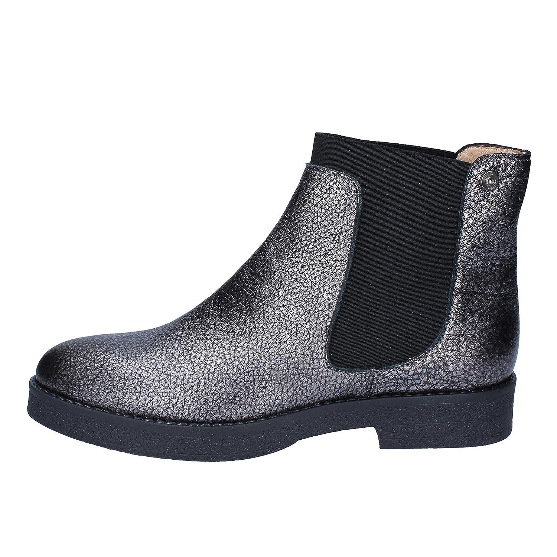 - Liu Jo Boots Womens Leather Grey
