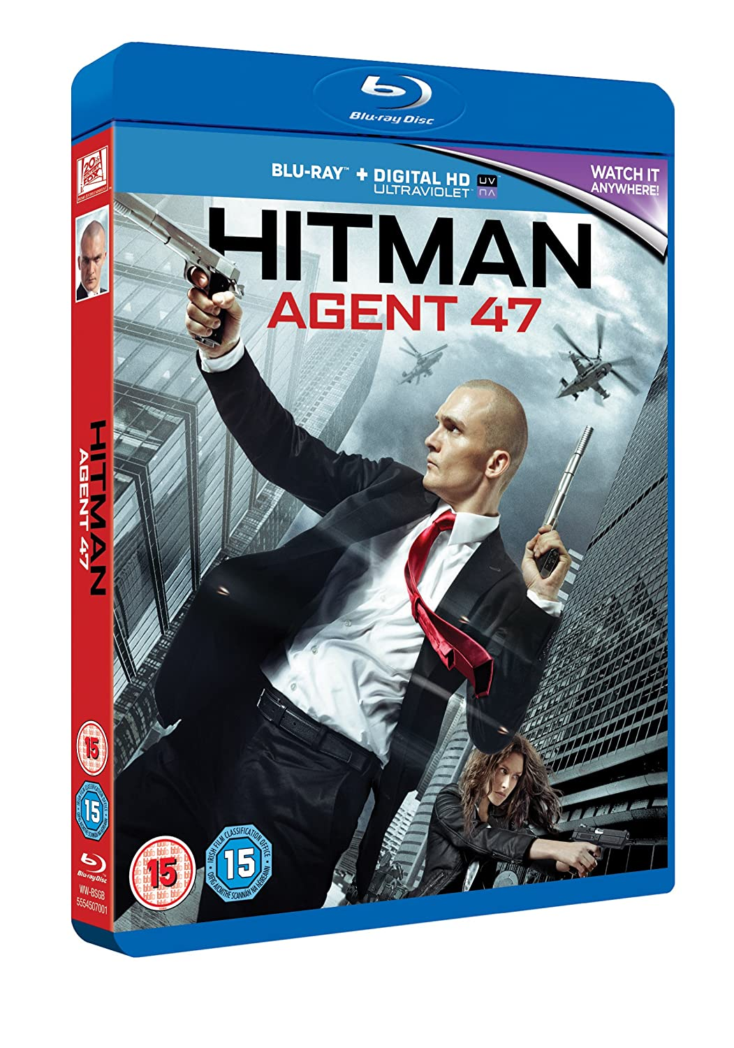 Amazon Com Hitman Agent 47 Blu Ray 2015 Movies Tv