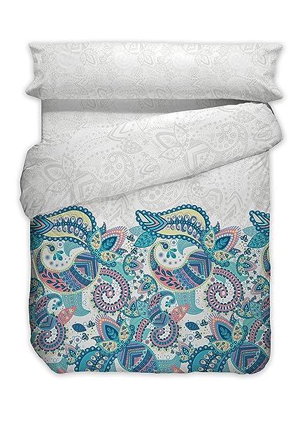 Minage Bettwäsche Set Bettbezug Kissenbezug Spannbettlaken