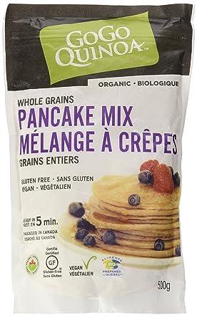 GoGo Quinoa Mixes3 Grains Pancake Mix Amazonca Grocery Gourmet