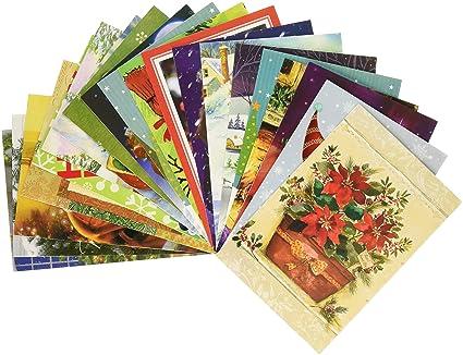 Amazon traditional christmas holiday greeting cards assorted traditional christmas holiday greeting cards assorted designs 50 count 4625quot m4hsunfo
