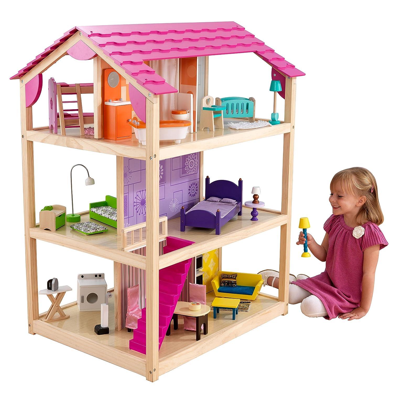 Barbie Haus Holz - Kidkraft Puppenhaus So Chic