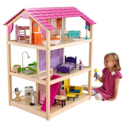 Buy Kidkraft So Chic Dollhouse With Furniture Online At Low Prices