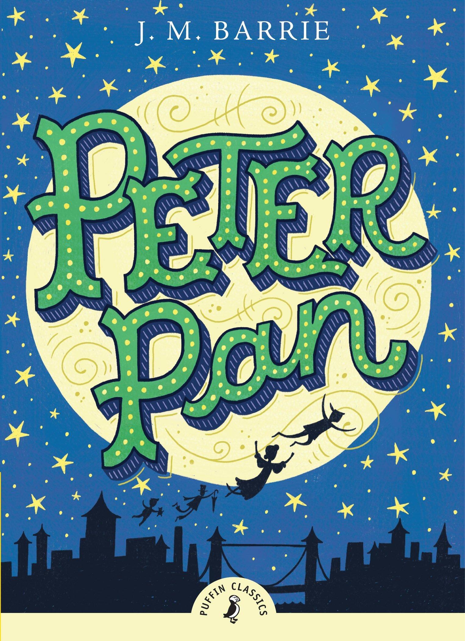 Peter Pan (puffin Classics): J M Barrie, Tony Diterlizzi: 9780141322575:  Amazon: Books