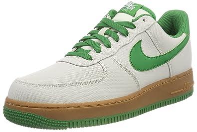 new product dc2a2 7f02a Nike Air Force 1  07 Txt, Chaussures de Gymnastique Homme Blanc (Lt Bone