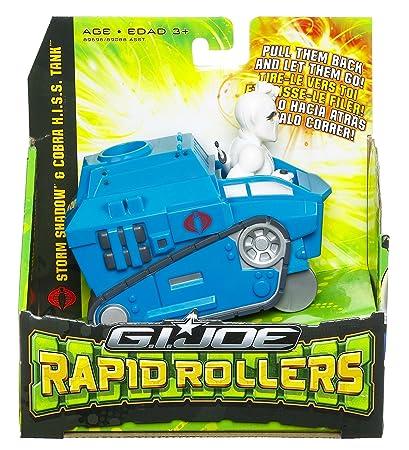 Amazon.com: GI Joe Movie Rapid Rollers SS Hiss Tank: Toys ...