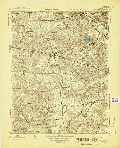 Amazon Com Yellowmaps Annandale Va Topo Map 1 31680 Scale 7 5 X