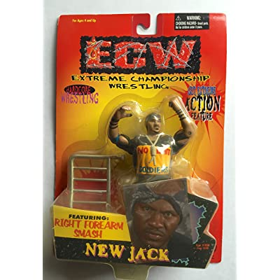 New Jack ECW Action Figure: Toys & Games