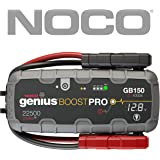 NOCO Genius Boost Pro - Arrancador ultraseguro con batería de litio, 4000 Amp, 12V