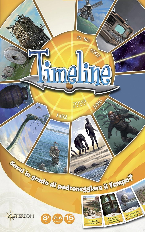 Asterion Timeline - Juego de Mesa (Contenido en Italiano): Amazon ...