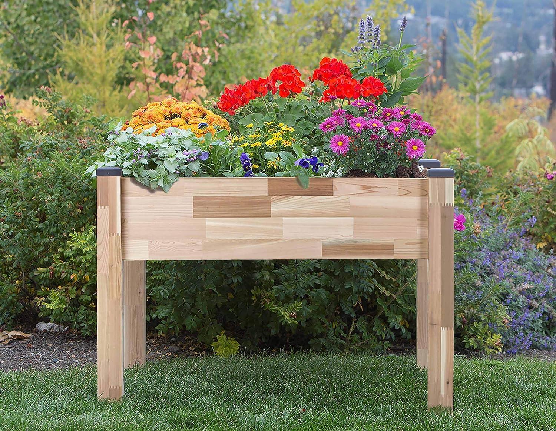 Amazon.com: Jardinera elevada, de CedarCraft: Jardín y ...