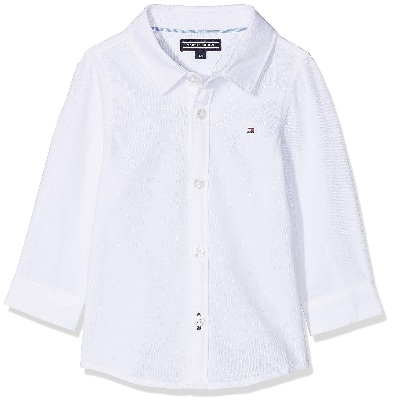 Tommy Hilfiger Unisex Bluse Delightful Oxford Baby Boy Shirt L/S KN0KN00835