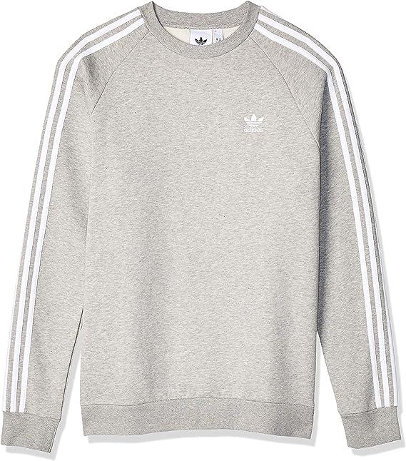 3 Stripes Crewneck Sweatshirt in 2020 | Herren sweatshirt