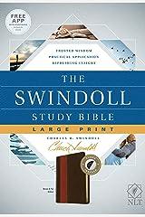 The Swindoll Study Bible NLT, Large Print Imitation Leather