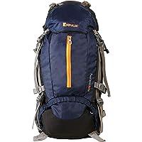 Impulse 65 Ltrs Blue Trekking Backpack (Inverse U Blue)