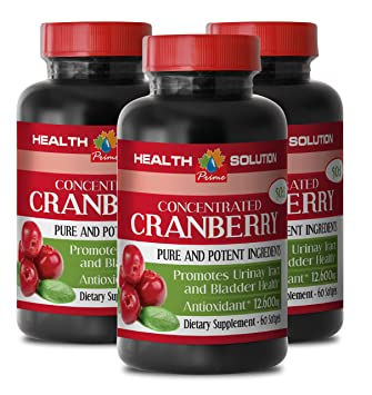 Amazon com: Urinary Antibacterial - Cranberry Concentrate 50