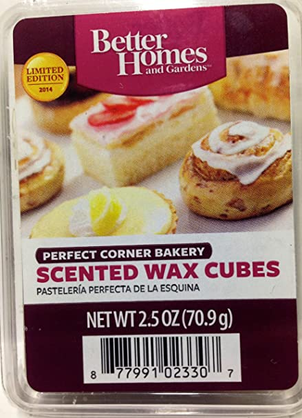 excellent better homes and gardens scented wax cubes. Better Homes  Gardens Scented Wax Melts Limited Edition for 2014 Perfect Corner Bakery Amazon com