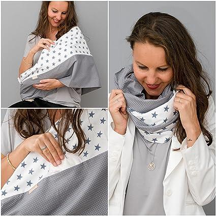 bajo costo 61602 19edc Mania bufanda para lactancia